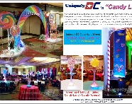 Candyland - Candy Lane themed event in the Washington DC Metro area - amazing special events.
