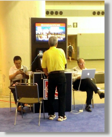 Uniquely DC cellphone charging kiosk rentals in the DC Metro Area
