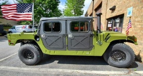Rent a Military HUMVEE - for special events, weddings, diginitary transport or photo opportunities in the Washington DC Metro Area.