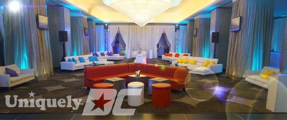 Uniquely Dc Provides Theme Props Dance Floors Linens Columns Mueseum Centerpieces Spandex