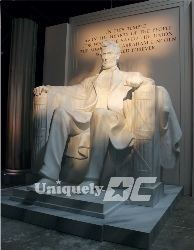 Lincoln Memorial Set Rental in Washington DC- Amazing replica Patriotic Sets for Special Events by Uniquely DC