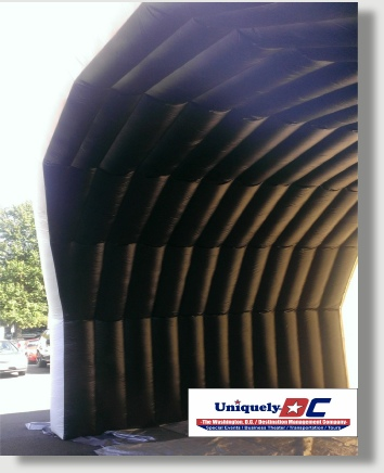 Uniquely DC Stage roof covers for special events in the DC Metro Area