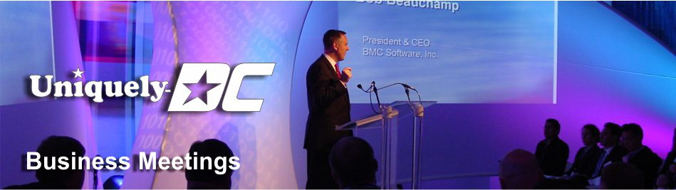 Washington DC Business Meeting Planning and Production Services