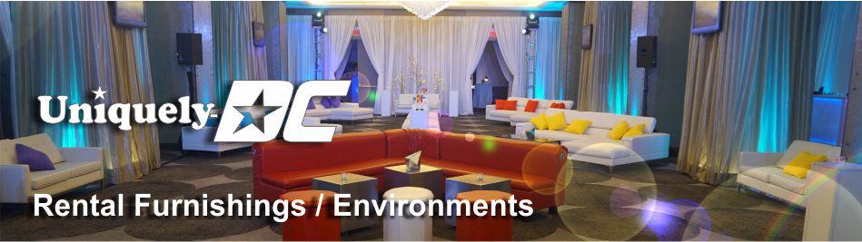 Washington DC Special Event Furniture Rental Services