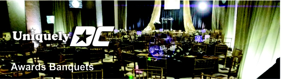 Washington DC Special Event Planning and Awards Banquet Decorating Services