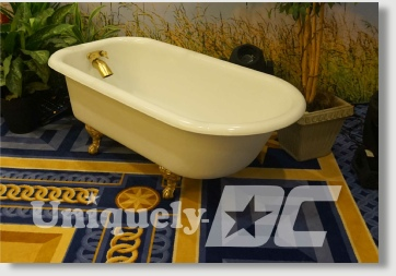 Washington DC Claw Foot Tub Rentals for Special Events and Productions - yes, we have a very unique inventory to assist in your production