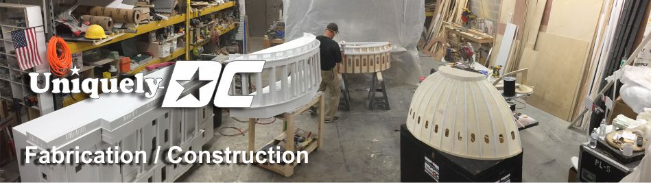 Washington DC Special Event Planning and Scenic Fabrication Production Services