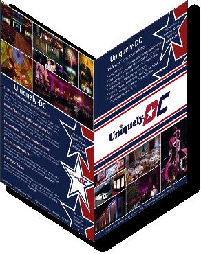 Uniquely DC Special Events, Production Services and Destination Management Flyer