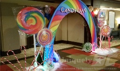 Uniquely DC Candy Land - Candy Lane themed event - a delicious addition to great party production in Washington DC, Maryland ad Northern Virginia.