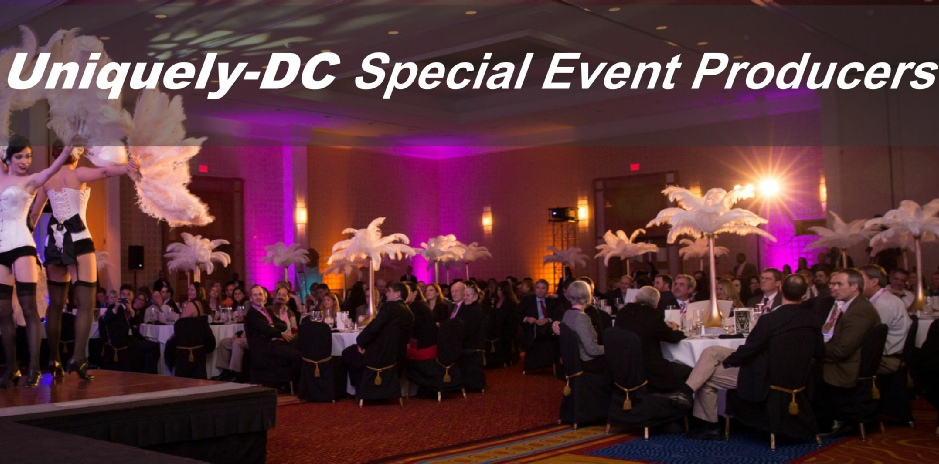 Uniquely DC, the Washington DC premier special events production company presents the Washington DC's Best Events and Themed Parties.