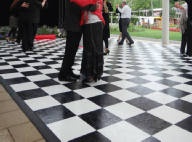 Uniquely DC - Black and White Dance Floors for Special Events and Theme decor rentals in Washington DC & Nationwide