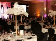 Uniquely DC - Ostrich Feather Centerpieces for Special Events and Theme decor rentals in Washington DC & Nationwide
