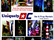 Uniquely DC Prop and Set rentals in Washington DC, Maryland and Northern Virginia.