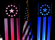 Uniquely DC - Glowing Acrylic Flags for Special Events and Theme decor rentals in Washington DC & Nationwide