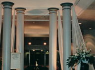 Uniquely-DC, Theme Party and Event Rentals - in Maryland, Washington DC and Northern Virginia - towering columns for room decor and theme party rentals for Special Events in Washington DC