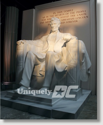Dinner with Lincoln - an experience of having dinner in the Lincoln Memorial National Monument - brought to your special event space in Washington DC.