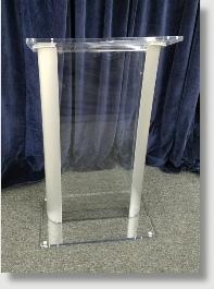 Washington DC's Acrylic Clear Lectern and Podium Rental Production company - serving Marylamd. Washington DC and Virginia