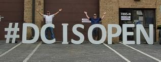 Big Giant Sign Rental Letters for Social Media Marketing in Washington DC