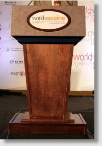 Uniquely DC Elite Wooden Presidential  lecterns / Podiums with built in confidence monitors for business meetings and special events.