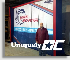 Washington DC Registration Sets and Custom Fabrication Rentals from Uniquely DC