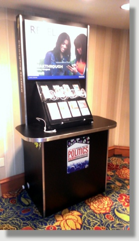 TEK Cell Phone and Tablet Charging Kiosk for Washington DC, Baltimore Maryland and Northern Virginia