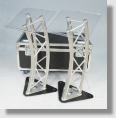 Uniquely DC Industrial Truss  lecterns / Podiums available for business meetings and special events rentals in Washington DC.