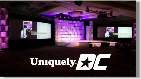 Uniquely DC business meeting set production and fabrication services in Washington DC, Maryland and Virginia.