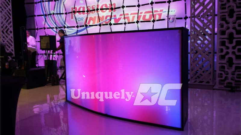 Uniquely DC custom glow bars, LED bars, creative counters and business meeting productions in Washington DC, Maryland and Virginia.
