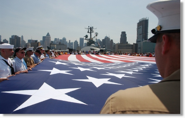 Uniquely DC rents giant USA Flags for Special Events, Conventions, Trade Shows and the Military - Nationwide.