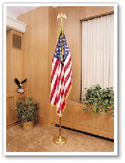 US Flag Rentals including presentation flags, ceremonial vehicle flags and much more from Uniquely DC.