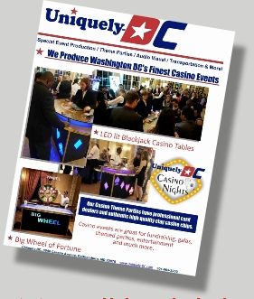 Download the Uniquely DC Casino Events Flyer