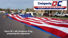 Giant USA Flag rentals - Washington DC and Nationwide
